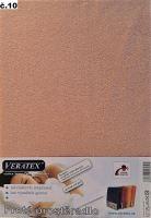 VERATEX Froté prostěradlo 120x220 cm (č.10-starorůžová)