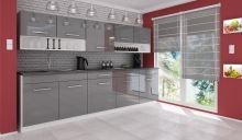 FALCO Kuchyňská linka Devil 260 šedý lesk - 1506015104