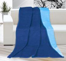 VERATEX Deka KIRA PLUS 150x200 cm - sv.modrá/tmavě modrá