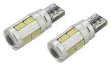 Compass Žárovka 10 SMD LED 3chips 12V T10 CAN-BUS ready bílá 2ks 33821