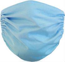 VERATEX Rouška na ústa Modrá 2-vrstvá
