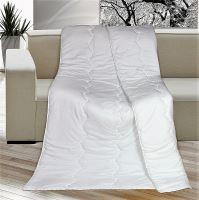 VERATEX Luxusní prošívaná přikrývka Kamilka prodloužená 135x220 bílá (zimní 1430g)