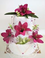 VERATEX Veratex Textilní dort třípatrový