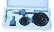 Vykružovací korunkové vrtáky, sada 18 - 63mm 10ks