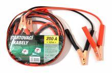Green Startovací kabely 200A  2,5m zipper bag 01121