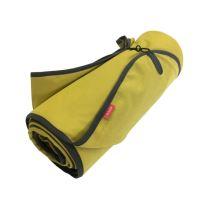 Aesthetic Softshellová pikniková deka - žlutá curry Rozměr: 145x200 cm - velká  s popruhem
