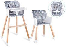 Lionelo dětská dřevěná židle 2 v 1 KOEN