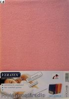 VERATEX Froté prostěradlo  90x210 cm (č. 8-růžová)