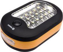 Vorel Svítilna ruční 24+1 LED TO-82731