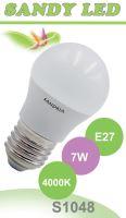 SANDRIA LED žárovka E27 S1048 SANDY LED E27 B45 7W SMD 4000K