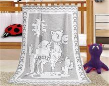 VERATEX Dětská bavlněná deka 100x140 cm velbloud