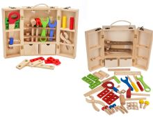 Dřevěná dílna s kufrem
