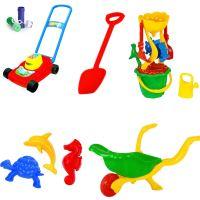 Mega hračky na písek kolečko 14in1
