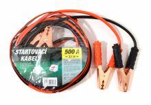 Green Startovací kabely 500A  2,5m zipper bag 01123