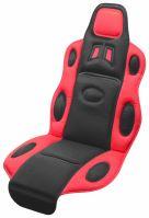 Compass Potah sedadla RACE černo-červený 31652