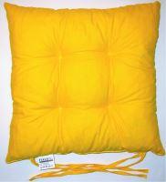 VERATEX Sedák prošívaný  40x40 cm (žlutý)