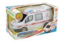 Ambulance (20cm) se zvukovými a světelnými efekty - 8590331110018