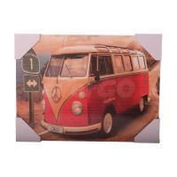 Dřevěný obraz 40 x 30 cm - VW Van (8595573015114)