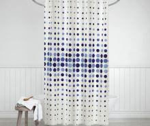 VERATEX Koupelnový závěs 180x200 cm modré tečky