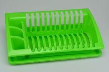 Odkapávač na nádobí HEIDRUN (43x27x12cm) - Zelený - 8010059022054