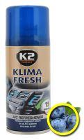 K2 Osvěžovač KLIMA FRESH 150ml BLUEBERRY amK222BB