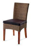 DomusVentures interierová jídelní židle BILBAO z materiálu LOOM - DV-003793