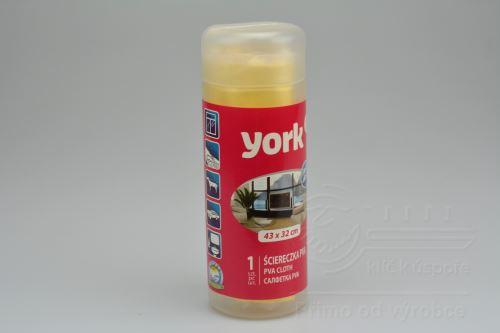 Univerzální PVA utěrka YORK v plastovém obalu (43x32cm) - 5903355056515
