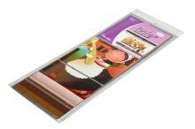 Otíratelná kuchyňská tapeta odolná proti tekutinám, oleji a teplu (750x450mm)