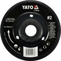 Yato Rotační rašple úhlová jemná 125 mm typ 2 YT-59169
