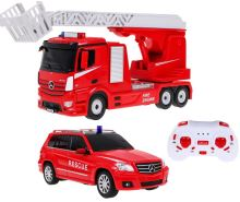 Mercedes benz rastar dálkově ovládané hasičské + auto