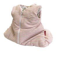 Aesthetic Spací pytlík 65 cm - pruh banánovo-růžovo-bílý
