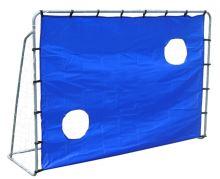 Fotbalová branka 2-v-1 tréninková stěna 215x150x76cm