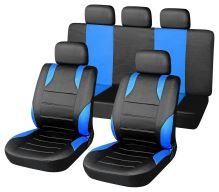 Compass Potahy sedadel sada 9ks SPORT modré AIRBAG 31675