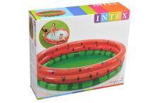 Dětský bazének ve tvaru melounu - 3 prstence - 6941057413105