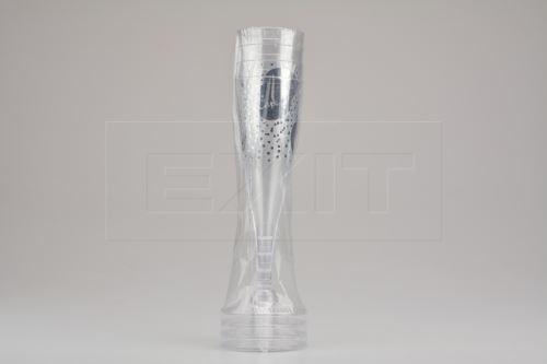 Set 4ks plastových pohárů na šampaňské EH CHEERS!