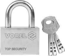 Vorel Zámek visací stavební 40 mm 4 klíče TO-77004