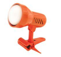 TEMAR Lampička Klips velký oranžový