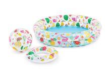 Dětský bazének s kruhem a míčem INTEX 59460 (1.22mx25cm) - 6941057454603