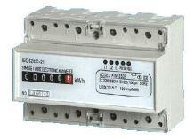 Elektroměr na DIN lištu třífázový mechanický měřič spotřeby wattmetr Hütermann HT-3PM