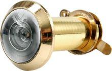 Vorel Kukátko do dveří 35 - 50 mm 200° zlaté TO-77920