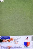 VERATEX Froté prostěradlo jednolůžko 90x200/16cm (č.12-stř.zelená)