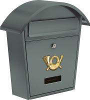 Vorel Poštovní schránka se stříškou oblou 380x320x105mm šedá TO-78586
