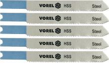 Vorel List do přímočaré pily 76 mm na kov a Al TPI24 5 ks TO-27832