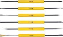 Vorel Sada přípravků pro demontáž elektronických součástek, 6ks TO-79398