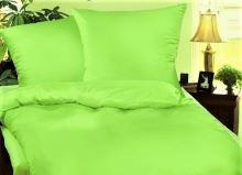 VERATEX Přehoz na postel bavlna140x200 žlutozelený
