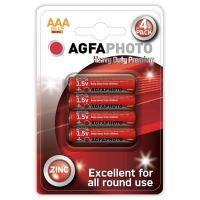 Baterie zinková AAA AGFAPHOTO, blistr 4ks 14901