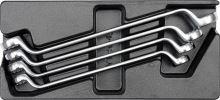Yato Vložka do zásuvky - klíče očkové ohnuté 4ks 21-32mm YT-5543