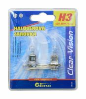 Compass Žárovka 12V  H3  55W Pk22s blister 2ks 08425