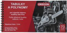 Oregon Kubírovací tabulky sur. dříví setinné (12346)