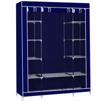 Herzberg HG-8009: Úložná skříň velká modrá